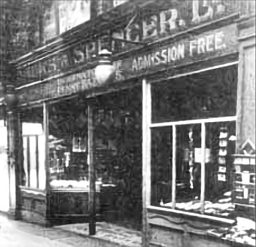 M & S Store 1899 at 29 Makinson's Arcade.