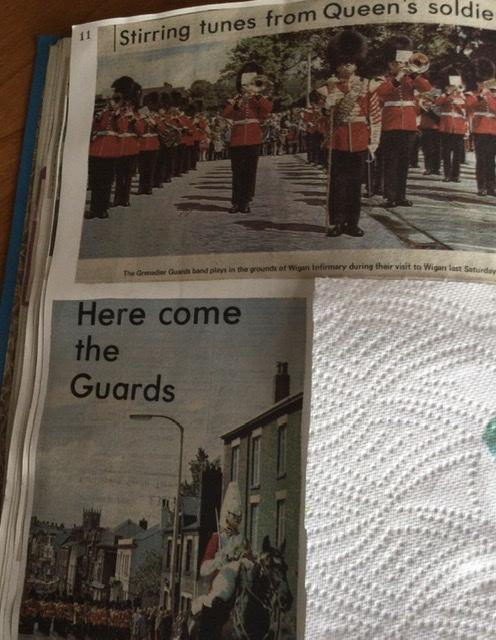 A Visit to Wigan by the band of the Grenadier Guards.