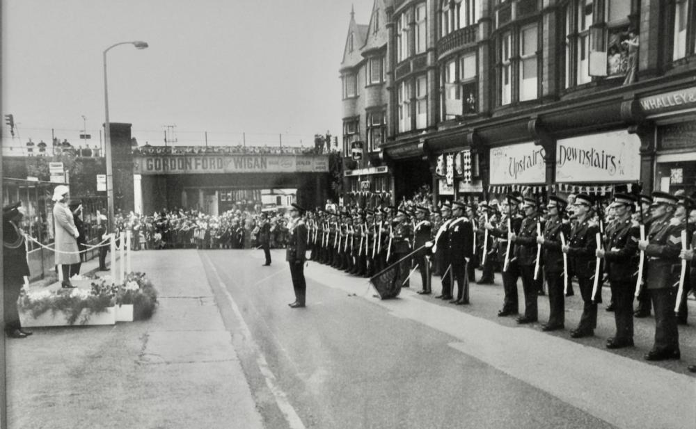 Queen's Silver Jubilee visit to Wigan