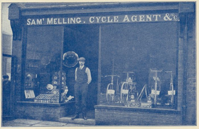 Sam Melling's Cycles and Talking Machines