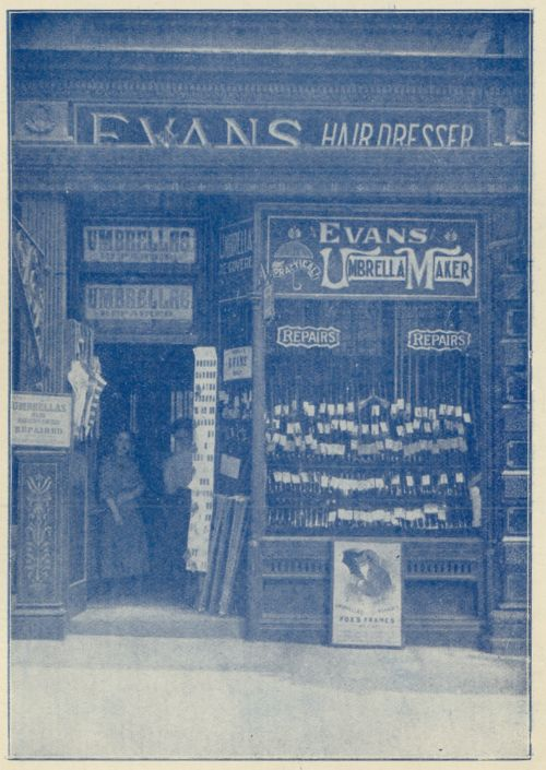 T. & G. Evans, Umbrellas, Wigan